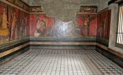 Pompei, Villa dei Misteri, triclinio (immagine dal web: https://commons.wikimedia.org/wiki/File%3AVilla_dei_Misteri_(Pompei)_WLM_033.JPG)