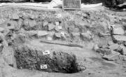 Montegrotto Terme (PD), villa di via Neroniana, dettaglio della preparazione pavimentale nel vano 10 (da Atti AISCOM XVI, p. 394, fig. 7)