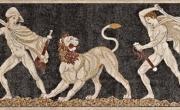 Pella, mosaico della Caccia (http://grandespersonajes.foroactivo.com/)